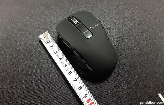 エレコムのBlueLEDワイヤレスマウス