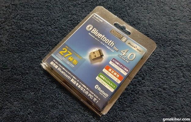 エレコムのBluetooth、USBアダプター