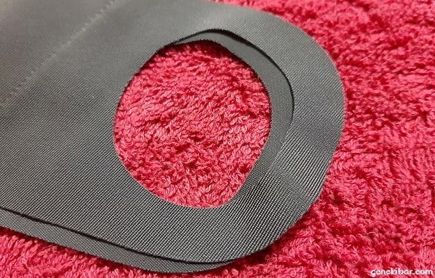 ブレスサーモマウスカバーの耳掛け部分