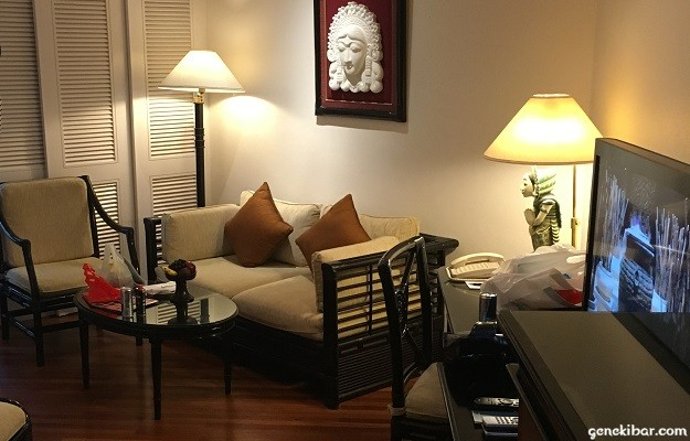 インターコンチネンタルバリリゾートの客室家具
