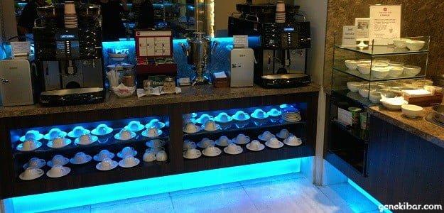SATSプレミアラウンジのコーヒー