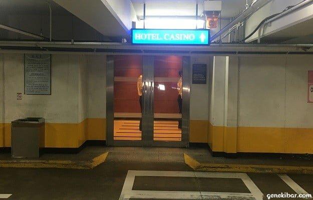 セブンラックカジノ・ヒルトン店の入り口