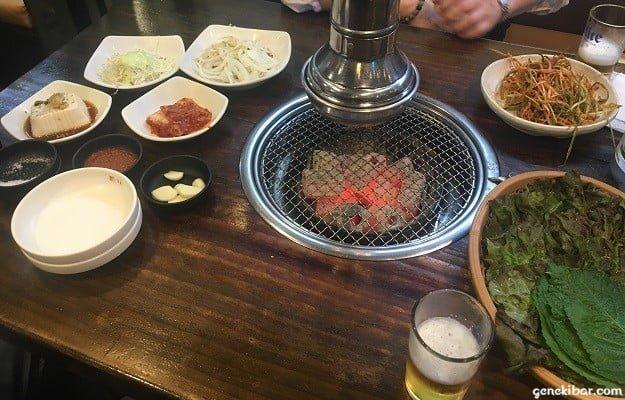 東大門焼き肉店、ソラボルのサービス惣菜