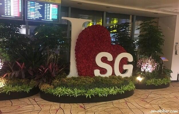 シンガポール、チャンギ国際空港