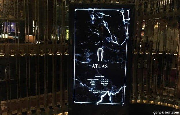 シンガポール、バー「アトラス」
