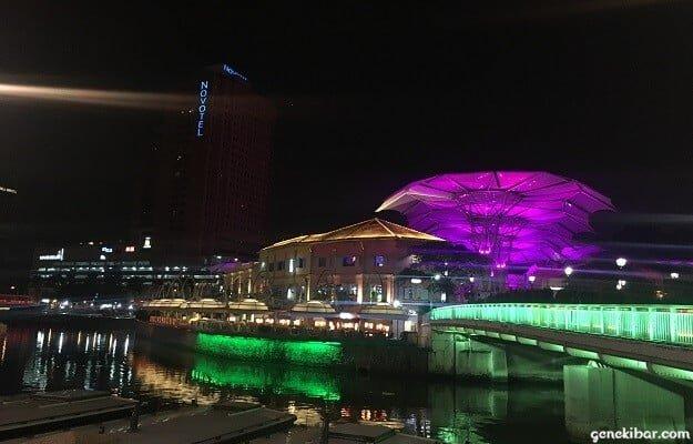 クラークキーとシンガポール川