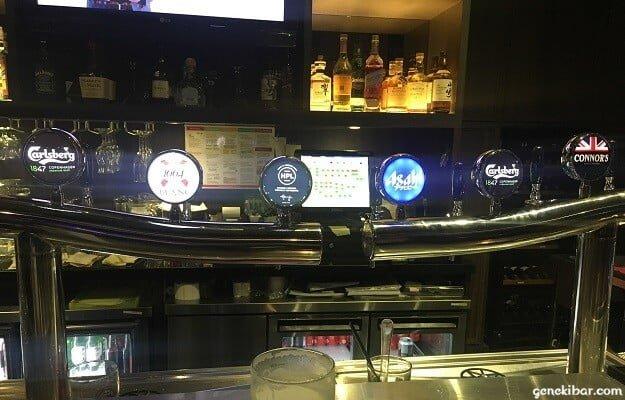 カフェ・イグアナのビールサーバー