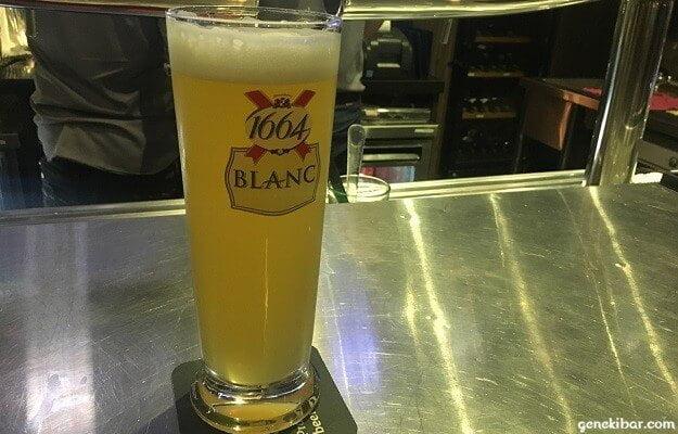 カフェ・イグアナの白ビール