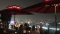 【地上200m】マリーナベイサンズの屋上から望むシンガポールの夜景