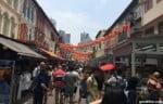 チャイナタウンのパゴダストリート