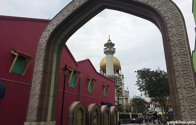 アラブストリートのサルタンモスク