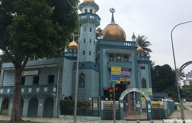アラブストリートのマラバールモスク