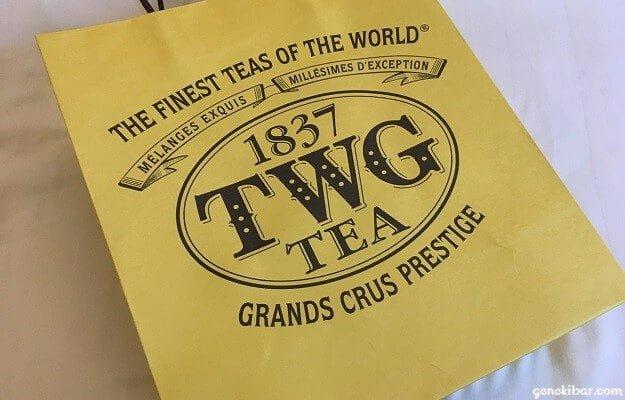 TWGティーの土産袋