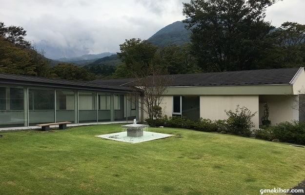箱根ハイランドホテルの庭園