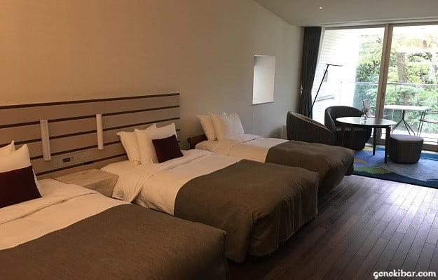 箱根ハイランドホテル、森のレジデンス客室内