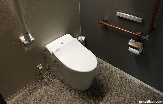 箱根ハイランドホテル、森のレジデンスのトイレ