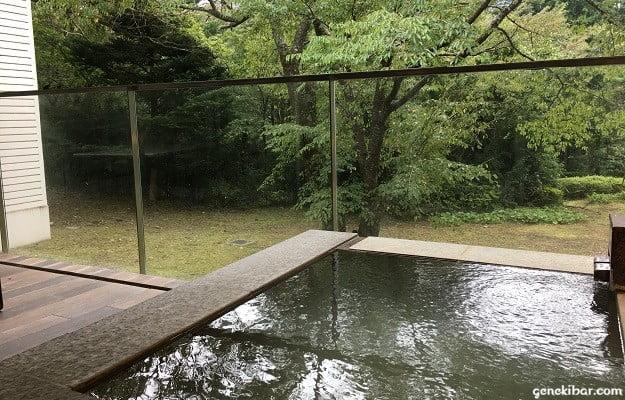箱根ハイランドホテル、森のレジデンスから見える景色