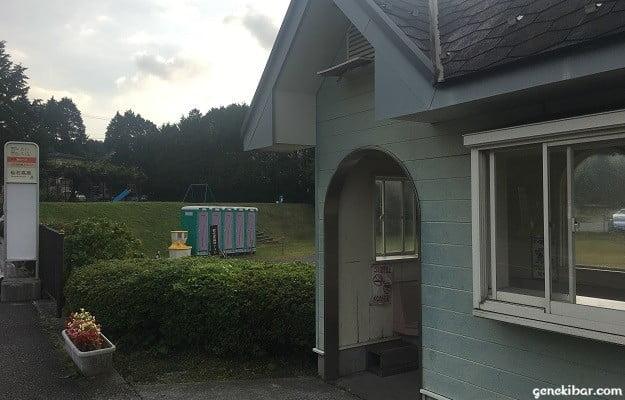 仙石高原のバス待合所