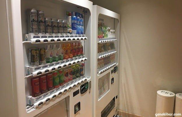 箱根ハイランドホテルの自販機