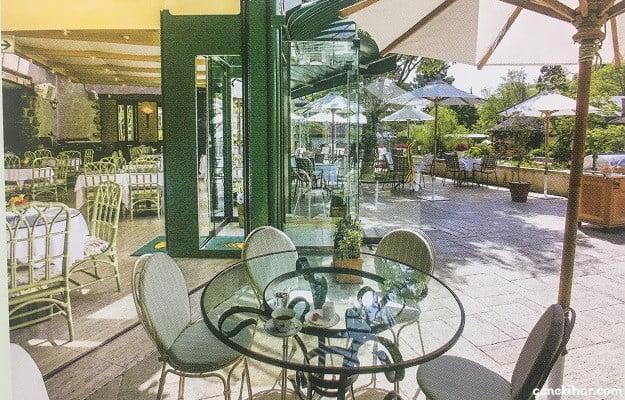 箱根ガラスの森美術館のレストラン