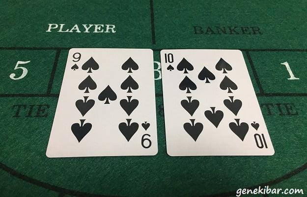 トランプカード9と10