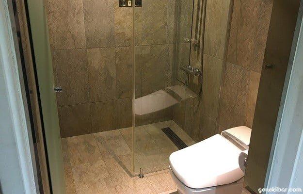 Hアベニューホテルの風呂場
