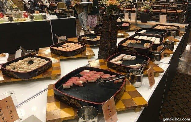 マグロなどの寿司