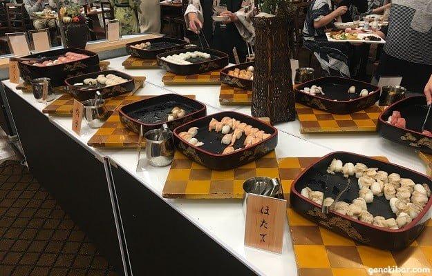ほたてなどの寿司