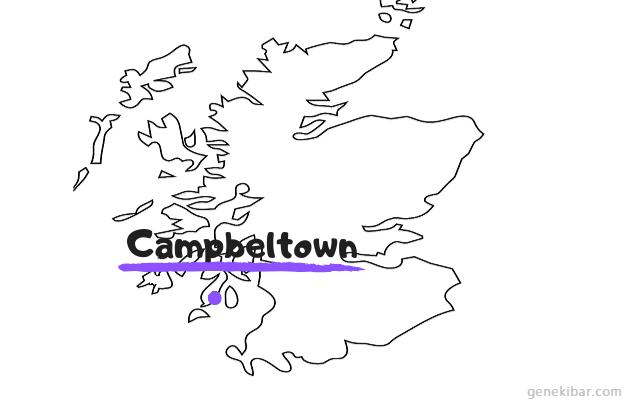 スコットランドのキャンベルタウン