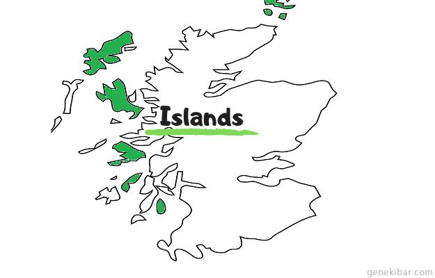 スコットランドのアイランズ
