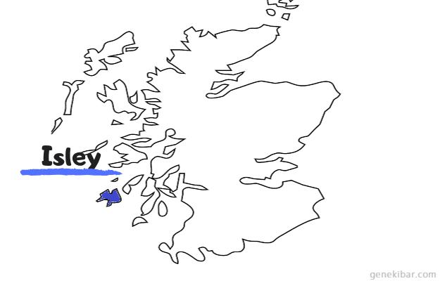 スコットランドのアイラ地方